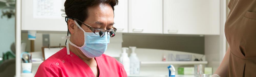全国でも数少ない、日本補綴(ほてつ)歯科学会・「専門医」「指導医」